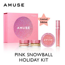 【AMUSE】PINK SNOWBALL★ホリデーキット~♪/ 追跡送