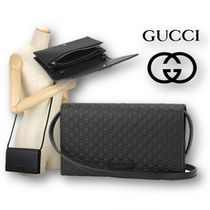 【GUCCI】OUTLET☆マイクロ グッチシマ☆クラッチバッグ