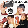 SCULPTOR スマホケース・テックアクセサリー SCULPTOR Faux leather Card Holder Phone Case MH680 追跡付
