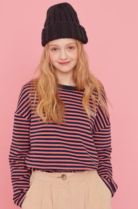 LUV IS TRUE Tシャツ・カットソー ☆ LUV IS TRUE☆ Tシャツ MD LOGO STRIPE TEE 3色(6)