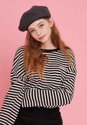 LUV IS TRUE Tシャツ・カットソー ☆ LUV IS TRUE☆ Tシャツ MD LOGO STRIPE TEE 3色(17)