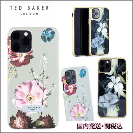 TED BAKER スマホケース・テックアクセサリー TED BAKER iPhone11/11Pro/11ProMAX ハードケース 花柄
