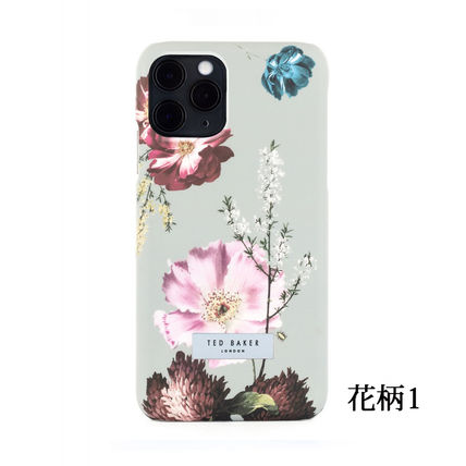 TED BAKER スマホケース・テックアクセサリー TED BAKER iPhone11/11Pro/11ProMAX ハードケース 花柄(2)