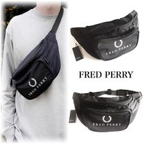 ☆FRED PERRY☆ 90'sレトロロゴ ボディバッグ・ウエストバッグ