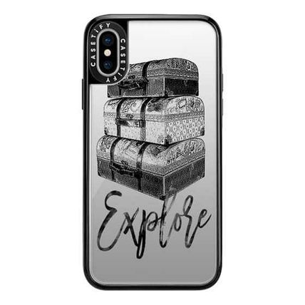 Casetify スマホケース・テックアクセサリー Casetify iphone Gripケース♪Explore Travel Vintage Luggage♪(6)
