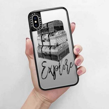 Casetify スマホケース・テックアクセサリー Casetify iphone Gripケース♪Explore Travel Vintage Luggage♪(9)