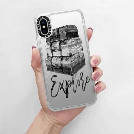 Casetify スマホケース・テックアクセサリー Casetify iphone Gripケース♪Explore Travel Vintage Luggage♪(13)