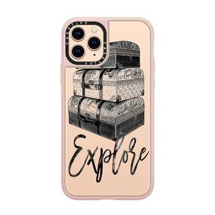 Casetify スマホケース・テックアクセサリー Casetify iphone Gripケース♪Explore Travel Vintage Luggage♪(14)