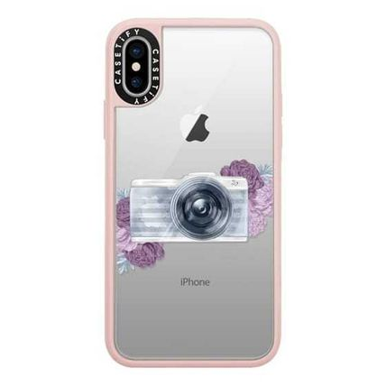 Casetify スマホケース・テックアクセサリー Casetify iphone Gripケース♪Photography Girl transparent,,♪(2)