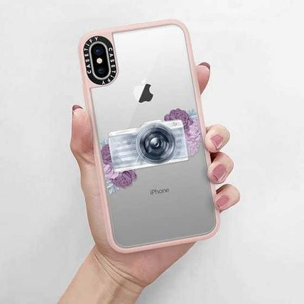 Casetify スマホケース・テックアクセサリー Casetify iphone Gripケース♪Photography Girl transparent,,♪(5)