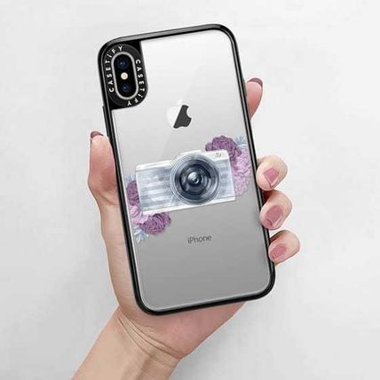 Casetify スマホケース・テックアクセサリー Casetify iphone Gripケース♪Photography Girl transparent,,♪(9)