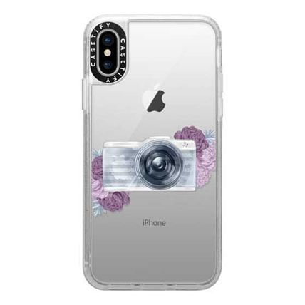 Casetify スマホケース・テックアクセサリー Casetify iphone Gripケース♪Photography Girl transparent,,♪(10)