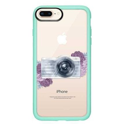 Casetify スマホケース・テックアクセサリー Casetify iphone Gripケース♪Photography Girl transparent,,♪(15)