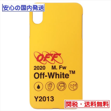 Off-White スマホケース・テックアクセサリー INDUSTRIAL Y013 IPHONE XR COVER / iphone ケース / OFF-WHITE