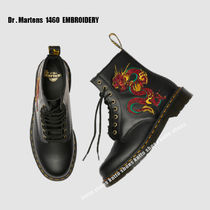 Dr Martens★1460 EMBROIDERY★アップリケ★刺繍★8ホール★兼用