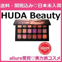 日本未入荷 Huda Beauty Desert Dusk Eyeshadow Palette 18色