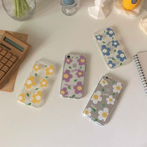 韓国可愛い雑貨♡ Love flower jelly case / bora and