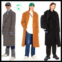 【ADER ERROR】	Sherlock double coat/19FW/全3色展開/コート