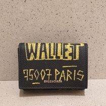 BALENCIAGA Ville Mini Wallet Graffiti 558208