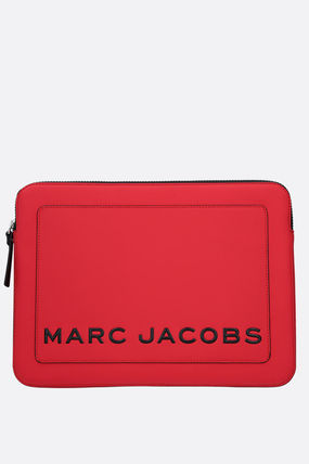 MARC JACOBS スマホケース・テックアクセサリー Marc Jacobs◇関税含13 TABLET ケース RUBBERIZED FAUX レザー
