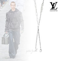 LOUIS VUITTON 2020SS チェーンネックレス チャーム付