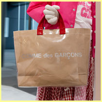 COMME des GARCONS GIRL 限定 ロゴ PVC トートバッグ