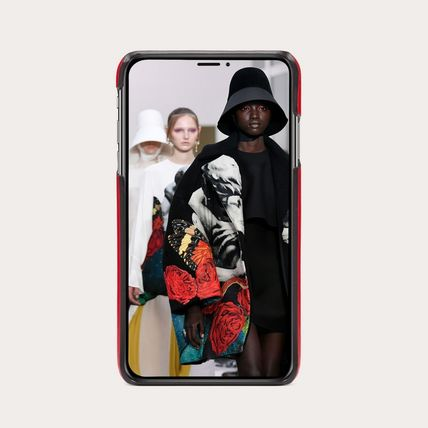 VALENTINO スマホケース・テックアクセサリー LOVE PHONE COVER FOR IPHONE XS MAX -  RED(3)