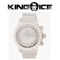 【King Ice】The Magistrate White Gold Analog Watch