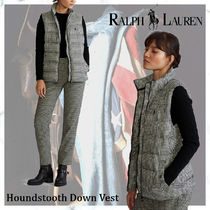 【New完売必須!】POLO RALPH LAUREN Houndstooth Down Vest