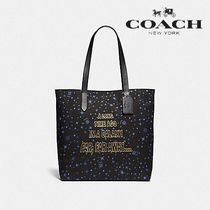 限定★STAR WARS X COACH TOTE WITH STARRY PRINT F88038