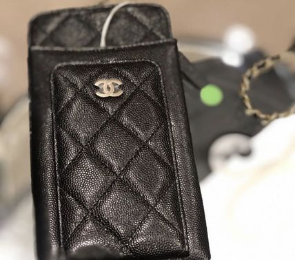 CHANEL スマホケース・テックアクセサリー 2020 CRUISE CHANEL ★ALL-IN-ONEが嬉しい★PHONE/CARD CASE