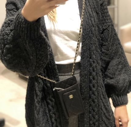 CHANEL スマホケース・テックアクセサリー 2020 CRUISE CHANEL ★ALL-IN-ONEが嬉しい★PHONE/CARD CASE(6)