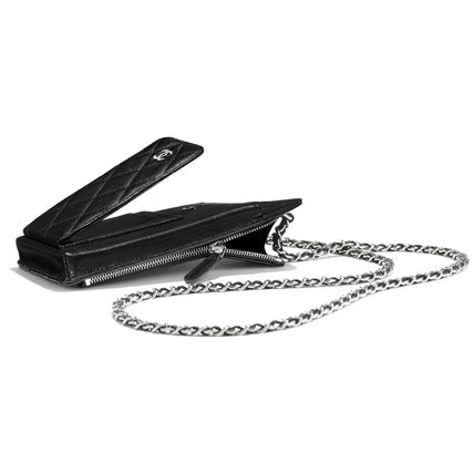 CHANEL スマホケース・テックアクセサリー 2020 CRUISE CHANEL ★ALL-IN-ONEが嬉しい★PHONE/CARD CASE(7)