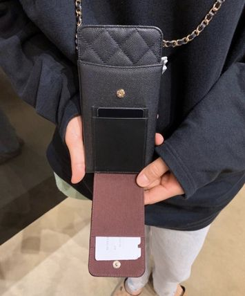 CHANEL スマホケース・テックアクセサリー 2020 CRUISE CHANEL ★ALL-IN-ONEが嬉しい★PHONE/CARD CASE(9)