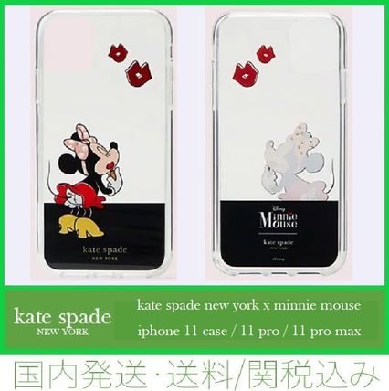 kate spade new york スマホケース・テックアクセサリー 【セール/国内発送/コラボ】minnie mouse 11/11 pro/11 pro max