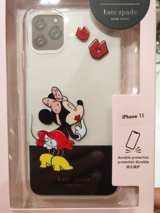 kate spade new york スマホケース・テックアクセサリー kate spade x minnie mouse ★11,11pro,11pro max iphone case