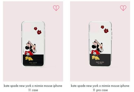 kate spade new york スマホケース・テックアクセサリー kate spade x minnie mouse ★11,11pro,11pro max iphone case(3)