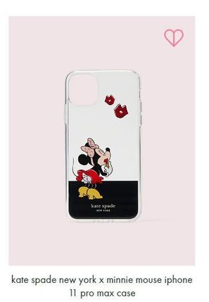kate spade new york スマホケース・テックアクセサリー kate spade x minnie mouse ★11,11pro,11pro max iphone case(4)