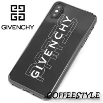 GIVENCHY PARIS LOGO IPHONE X / XSケース 携帯ケース