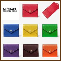 【Michael Kors】Medium Pebbled Leather Envelope Wallet☆