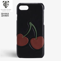 The Case Factory*iPhone 7/8 ケース チェリー柄
