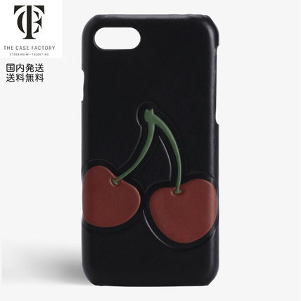 THE CASE FACTORY スマホケース・テックアクセサリー The Case Factory*iPhone 7/8 ケース チェリー柄
