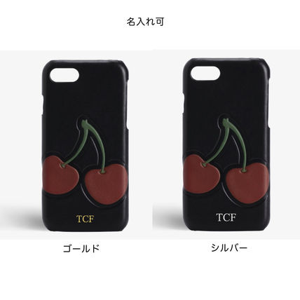 THE CASE FACTORY スマホケース・テックアクセサリー The Case Factory*iPhone 7/8 ケース チェリー柄(3)