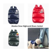 【Monchouchou】Alaska Crew Highneck Down Jacket★3color