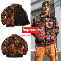 FW19 Supreme Ganesh Faux Fur Jacket - ガネーシャ ジャケット