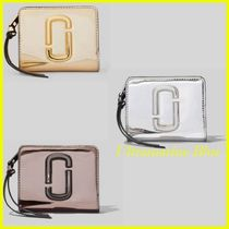 MARC JACOBS★SNAPSHOT MIRRORED MINI COMPACT WALLET☆