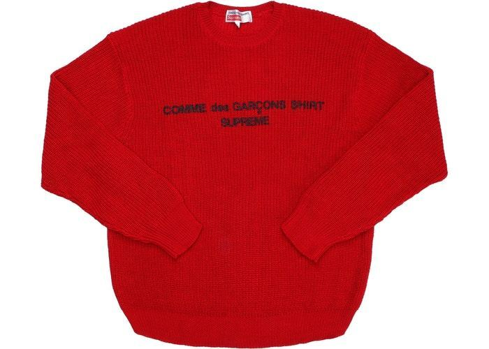 Supreme Comme des Garcons SHIRT Sweater/RED (Supreme/スウェット・トレーナー) 49240052