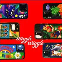 wiggle wiggle★Embroidery Case★iPhoneケース ★6色