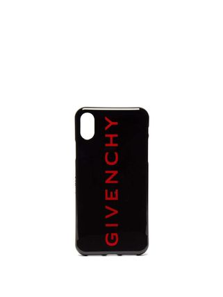 GIVENCHY スマホケース・テックアクセサリー 大人のお洒落アイテム!GIVENCHY ロゴ iPhone X ケース