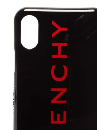GIVENCHY スマホケース・テックアクセサリー 大人のお洒落アイテム!GIVENCHY ロゴ iPhone X ケース(4)